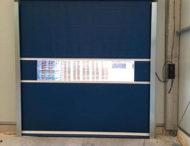 Puerta acceso rápido industrial