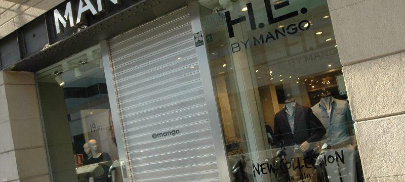 Puerta automática mango
