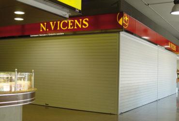 puerta automatica mercado